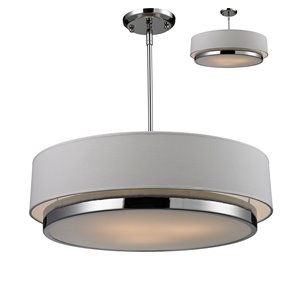 Jade 3-Light Chandelier - 22