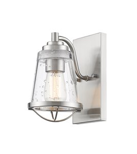 Mariner Wall Sonce - 1-Light - Brushed Nickel