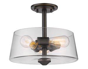 Annora 3-Light Semi Flush Mount - 13.75