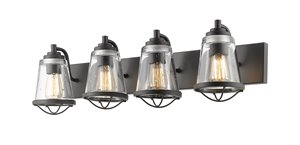 Mariner Vanity Light - 4-Light - Bronze
