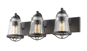 Mariner Vanity Light - 3-Light - Bronze