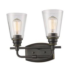 Annora Vanity Light - 2-Light - Olde Bronze