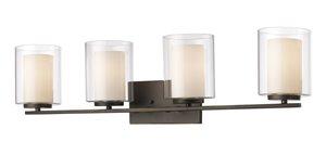 Willow Vanity Light - 4-Light - Olde Bronze