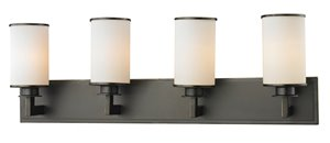 Savannah Vanity Light - 4-Light - Olde Bronze