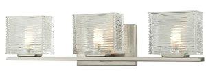 Jaol Vanity Light - 3-Light - Brushed Nickel