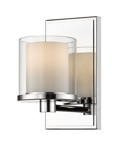Schema Vanity Light - 1-Light - Chrome