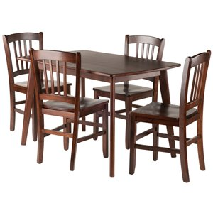 Shaye 5-Piece Set Dining Table - 4 Chairs