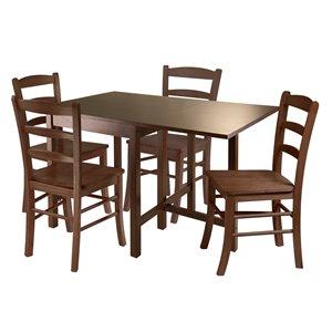 Ensemble de salle à manger Lynden, 5 pièces, 4 chaises