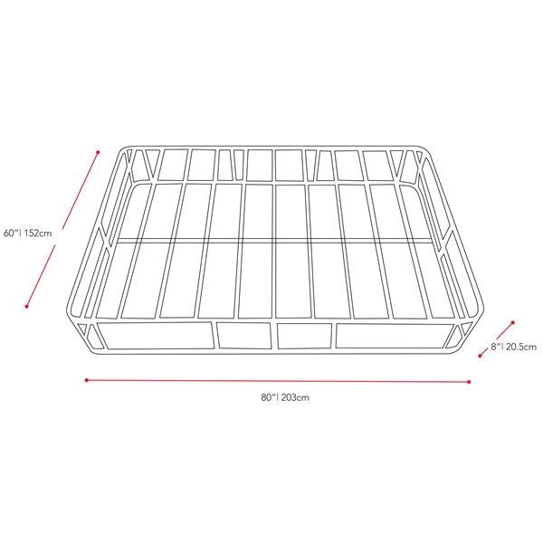 base robuste pour matelas de grandeur grand lit de CorLiving(MD)