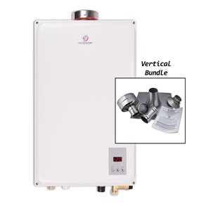 Tankless Water Heater - 6.8 Gallons - White