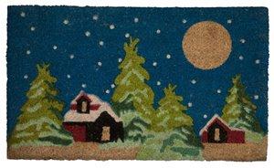 Winter Wonderland Printed Coco Door Mat - 18'' x 30''