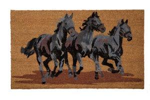 Paillasson en fibre de coco trois chevaux, 18