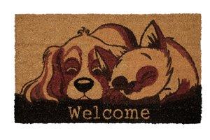 Paillasson en fibres de coco chien et chat, 18