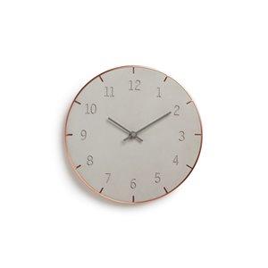 Piatto Wall Clock - Concrete - 10
