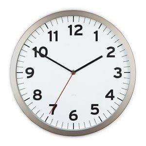 Anytime Clock - White - 12.5