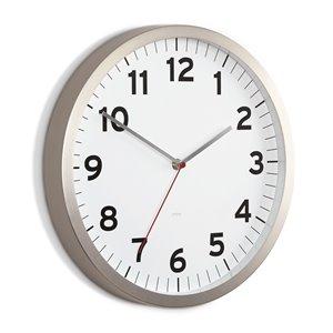 Horloge Anytime, blanc, 12.5