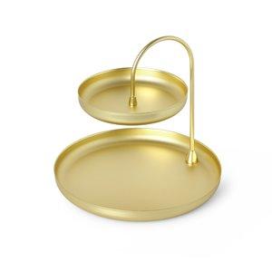 Poise Jewlery Tray - Brass