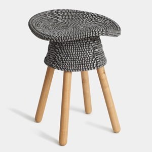 Umbra Grey Coiled Stool