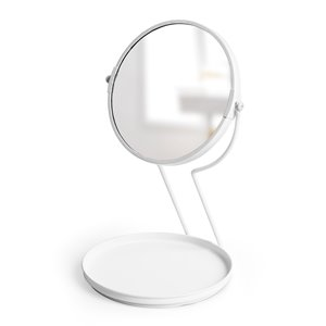 Miroir de table See Me, Blanc