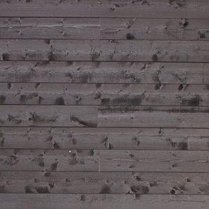 Planches décoratives, noir sugi-ban d'époque