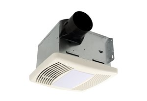 Hushtone Bath Fan with Light and Humidistat - 150 CFM
