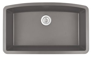 Single Kitchen Sink - Large Bowl - 32.5