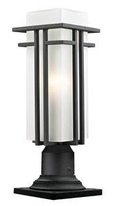 Abbey Outdoor Pier Mount Light - Black - 6.63