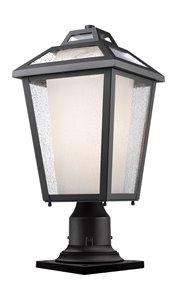 Memphis Outdoor Pier Mount Light - Black - 9