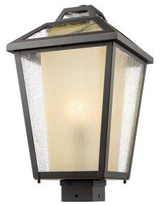 Memphis Outdoor Post Mount Light - Bronze - 11