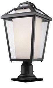 Memphis Outdoor Pier Mount Light - Black - 11