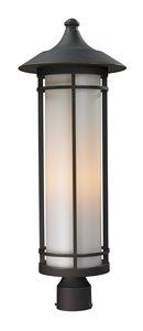 Woodland Outdoor Post Light - Bronze - 10