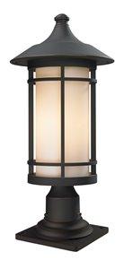 Woodland Outdoor Pier Mount Light - Bronze -10