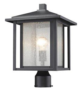 Luminaire extérieur pour poteau Aspen, Noir, 11