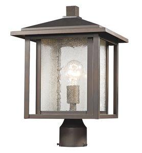 Luminaire extérieur pour poteau Aspen, 1 lumière