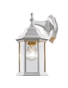 Waterdown 1-Light Outdoor Wall Light - Gloss White
