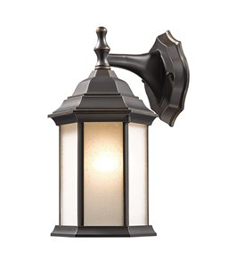 Waterdown 1-Light Outdoor Wall Light - Oil Rubbed Bronze