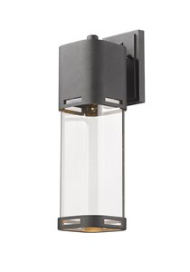 Lestat 1-Light Outdoor Wall Light - Black