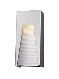Millenial 1-Light Outdoor Wall Light - Silver