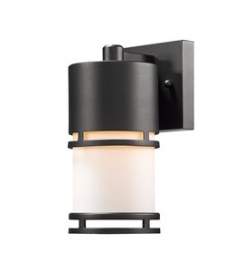 Luminata Outdoor LED Wall Light - Black