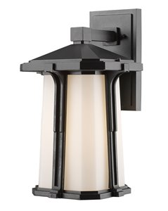 Harbor Lane 1-Light Outdoor Wall Light - Black