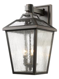 Bayland 3-Light Outdoor Wall Light - Oil Rubbed Bronze
