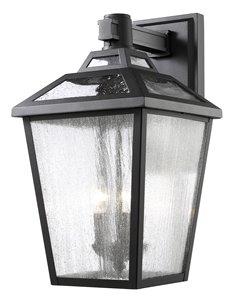 Bayland 3-Light Outdoor Wall Light - Black