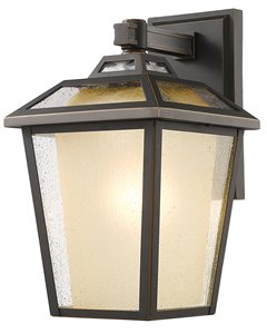 Memphis Outdoor 1-Light Outdoor Wall LightOiled Bronze