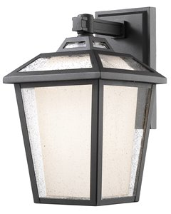 Memphis Outdoor 1-Light Outdoor Wall Light - Black