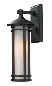 Woodland Outdoor Wall Light - Black