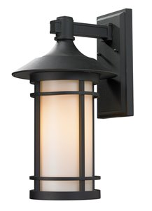 Woodland Outdoor Wall Light - Black