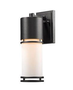 Luminata Outdoor LED Wall Light - Black