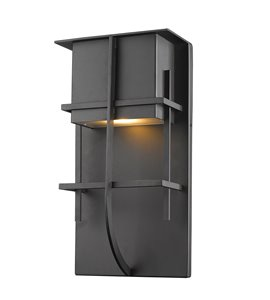 Stillwater 1-Light LED Outdoor Wall Light - Black