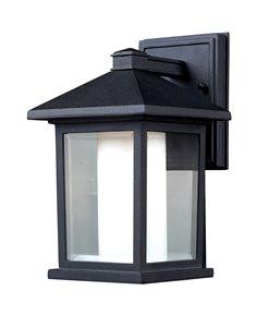 Mesa Outdoor Wall Light-n Black