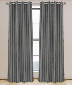 Rideaux à œillets rayés et texturés, 52'' x 95''